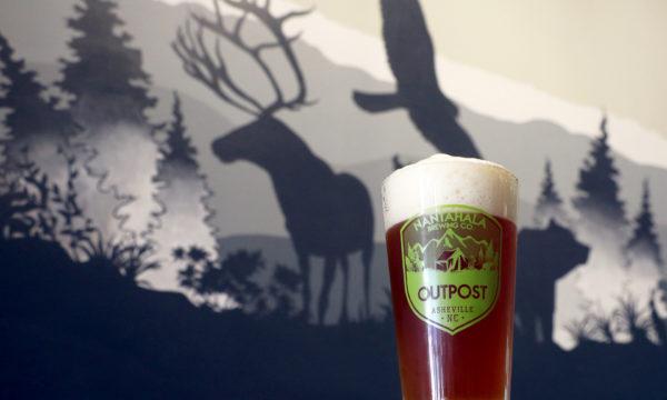 BeerinfrontofMural